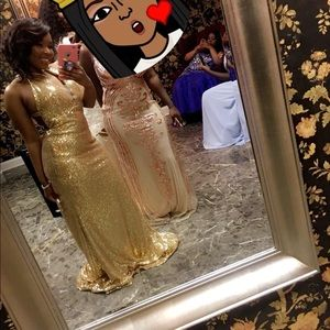 Old Prom Dress Worn Once Ships Out Within 7 Days